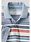 Men's Regular Original Short Sleeve Piqué Multi Stripe Polo Shirt