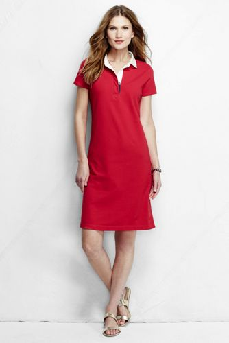 Women's Regular Rugby Polo Dress