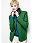 Women's Regular Boiled Wool Blend Jacket