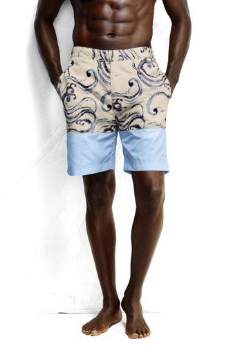 Men's Regular Colourblock Board Shorts