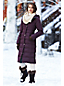 Le Manteau Long en Duvet Chalet Femme Stature Standard