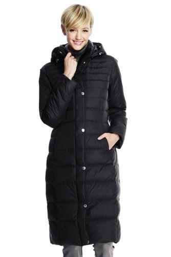 Women's Petite Chalet Down Long Coat