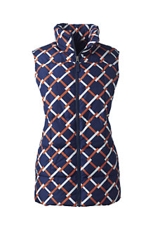 Women's Patterned Down Gilet