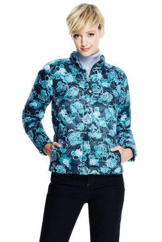 Women's Regular Printed Lightweight Down Packable Jacket