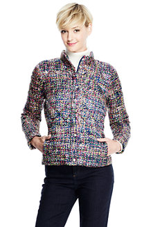 Women's Printed Lightweight Down Packable Jacket