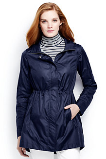 Women's Lightweight Packable Rain Coat