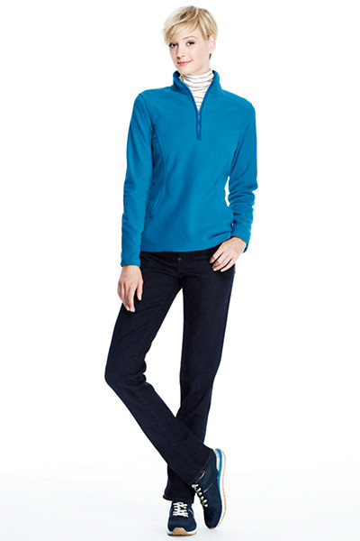 Lands' End - Everyday 100 Fleece-Troyer - 1