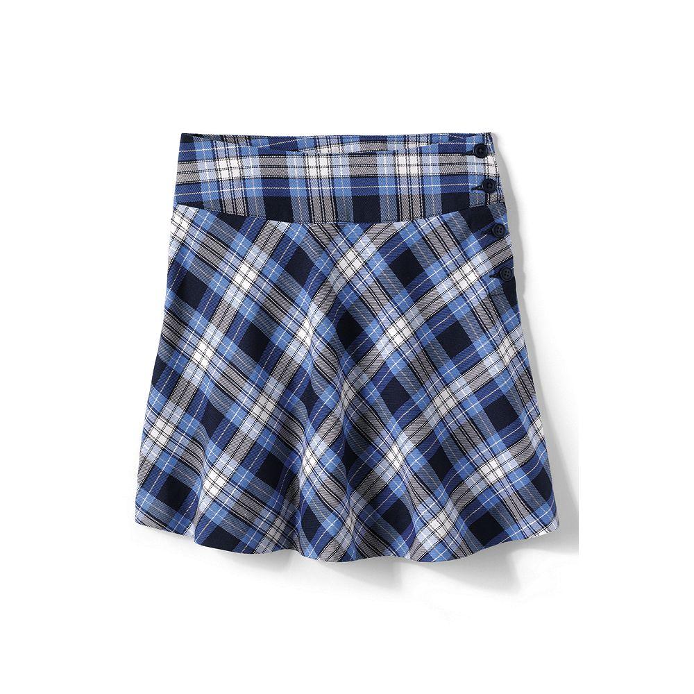 Lands' End School Uniform Girls' Plaid Skirt (Top of the Knee)