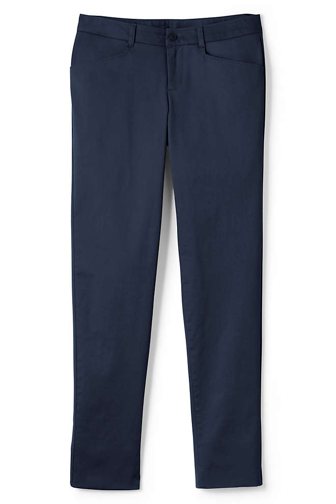 School Uniform Women's Stretch Pencil Pants, Front