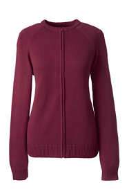 School Uniform Women's Performance Zip-front Cardigan