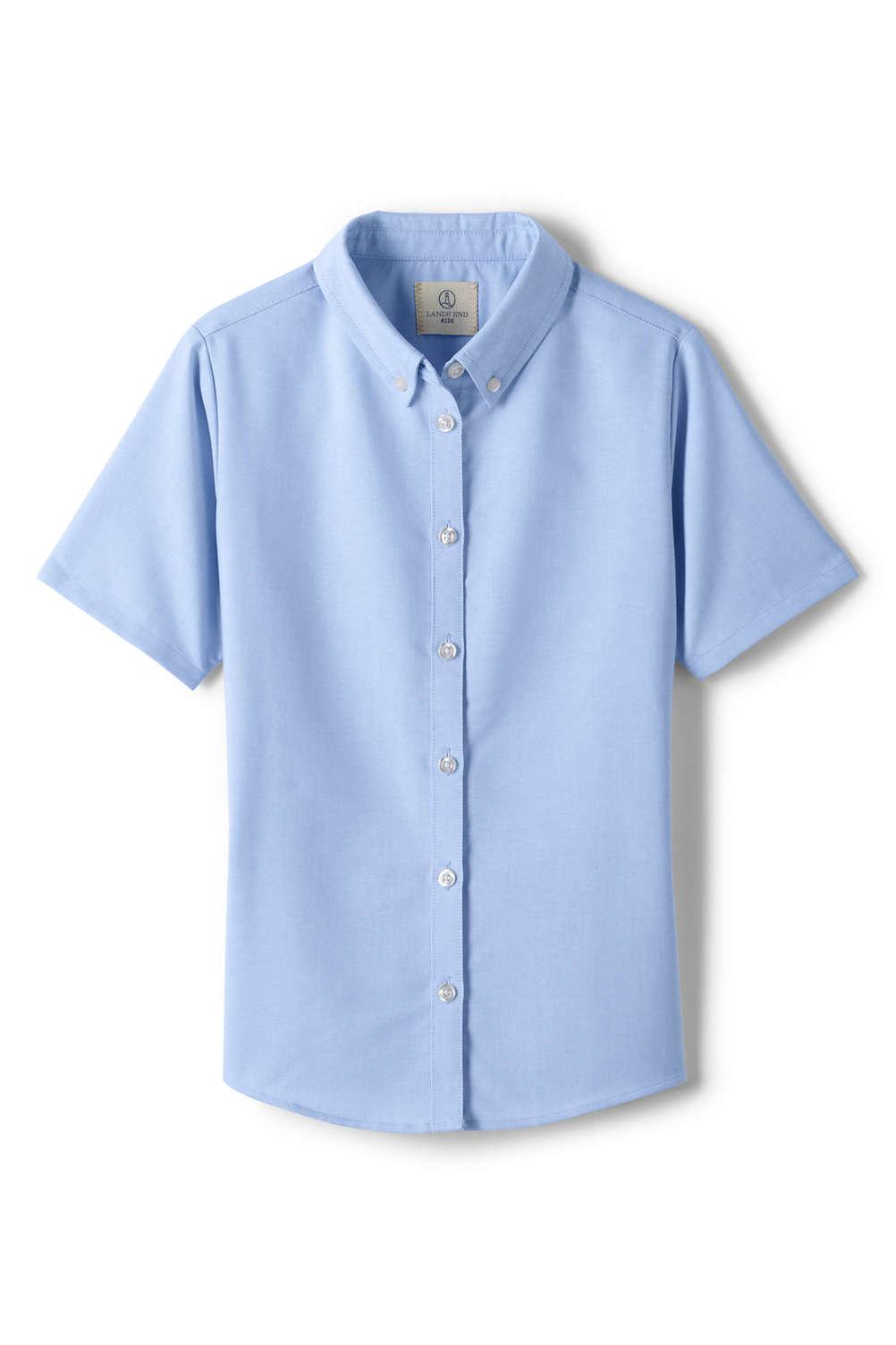 e98734d7b450 School Uniform Short Sleeve Oxford from Lands  End