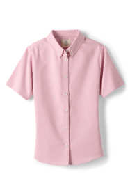 School Uniform Little Girls Short Sleeve Oxford