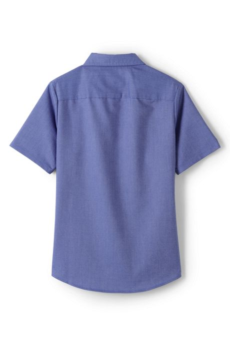 School Uniform Women's Short Sleeve Oxford