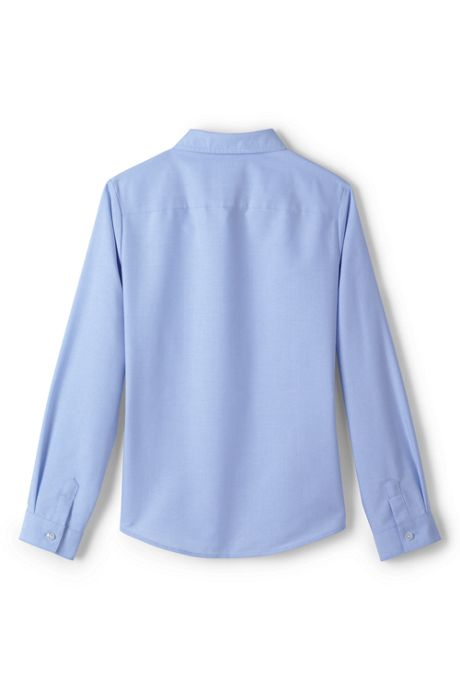 Girls Plus Long Sleeve Oxford
