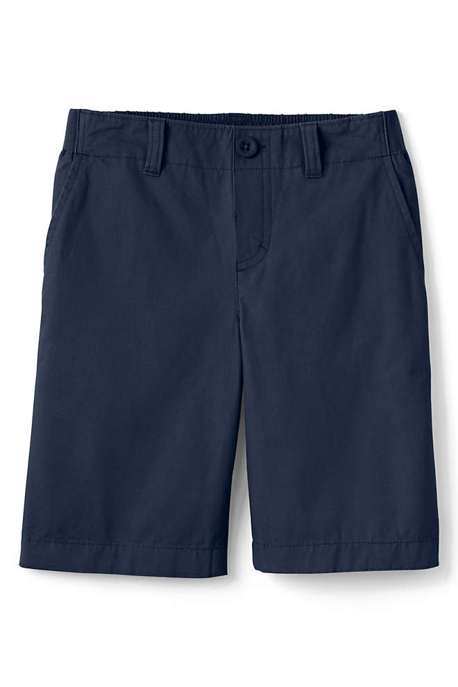 School Uniform Kids Pull On Shorts, Front