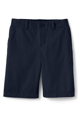school uniform boys elastic waist shorts from lands u0026 39  end