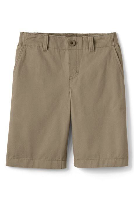 School Uniform Little Boys Elastic Waist Shorts
