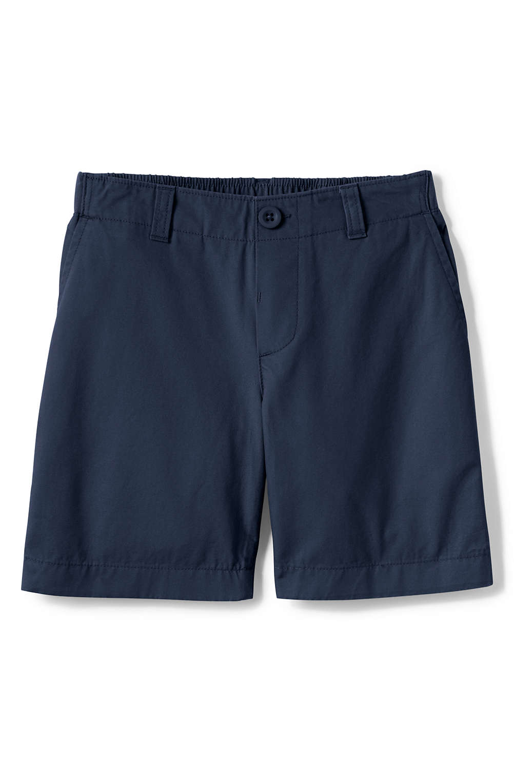 c249735354 School Uniform Girls Elastic Waist Shorts from Lands' End