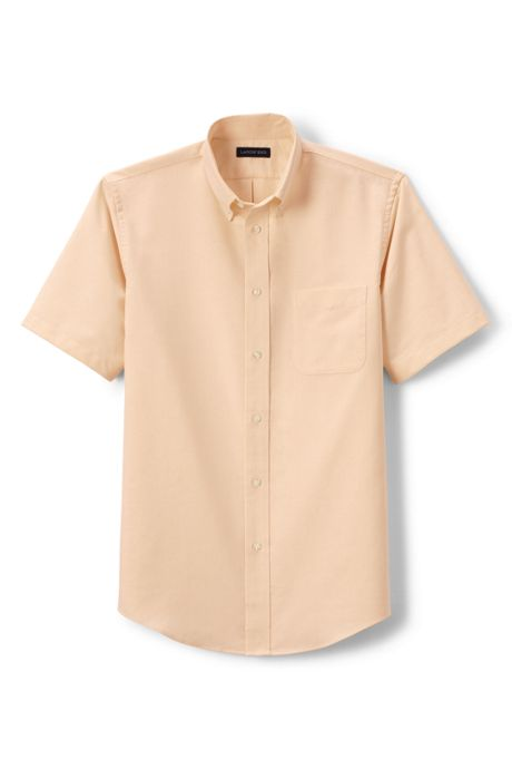 School Uniform Men's Short Sleeve Oxford Shirt