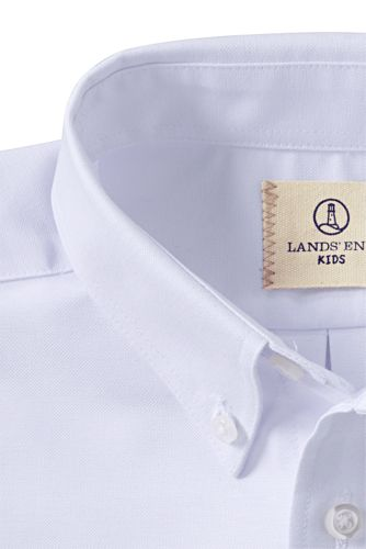 Boys Long Sleeve Oxford Dress Shirt
