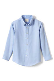 Boys Husky Long Sleeve Oxford Dress Shirt