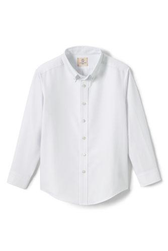 Little Boys Long Sleeve Oxford Dress Shirt