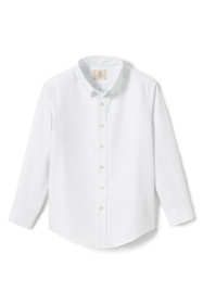 Little Boys Long Sleeve Oxford