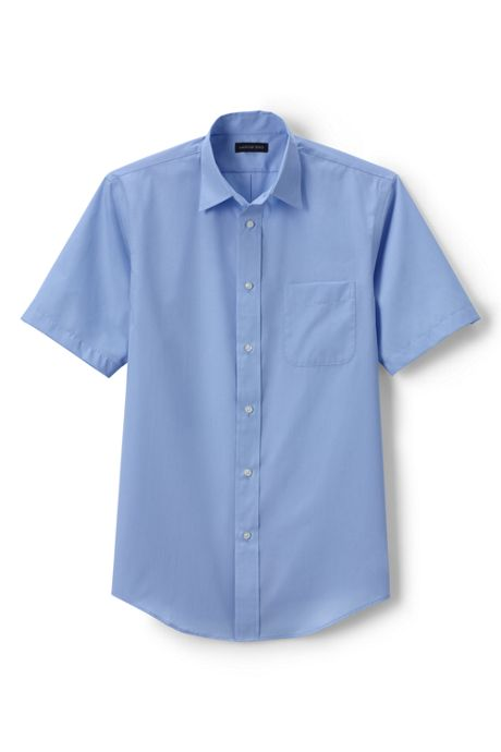 School Uniform Men's Short Sleeve Perfect Shirt