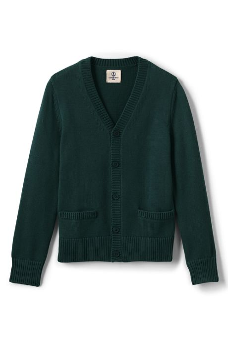 Little Boys Boys Cotton Modal Button Front Cardigan Sweater