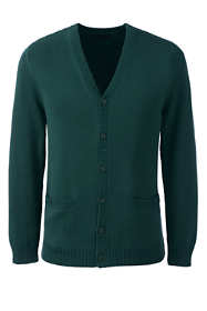 5a23c21c50 School Uniform Men s Performance Button Front Cardigan Sweater