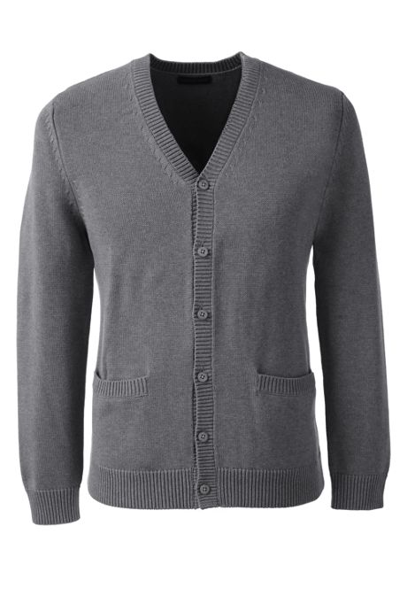 Men's Performance Button Front Cardigan