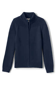 School Uniform Boys Performance Zip-front Cardigan