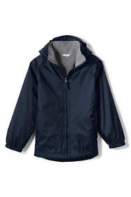 School Uniform Little Kids Fleece Lined Rain Jacket