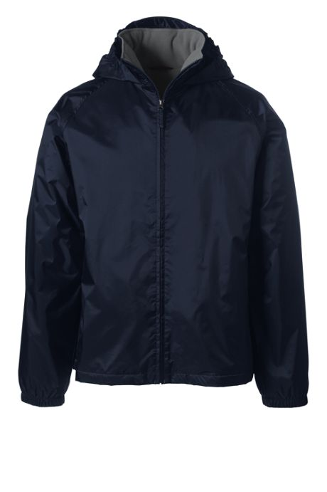 Men's Fleece Lined Rain Jacket