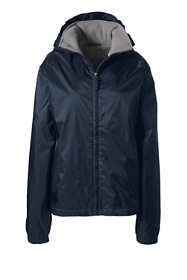 School Uniform Women's Fleece Lined Rain Jacket