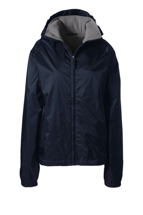 Women's Fleece Lined Rain Jacket