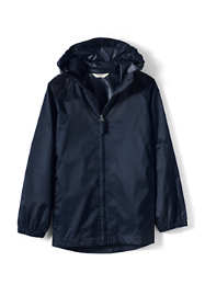 School Uniform Little Kids Packable Rain Jacket