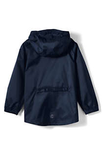Men's Packable Rain Jacket, Back