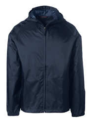 School Uniform Men's Packable Rain Jacket