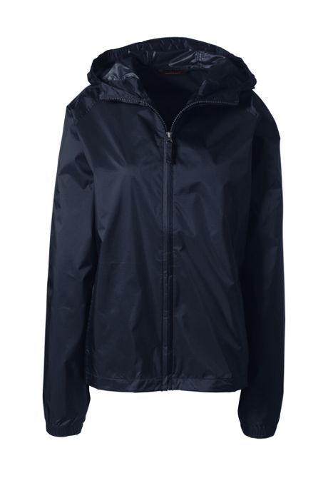 School Uniform Women's Packable Rain Jacket