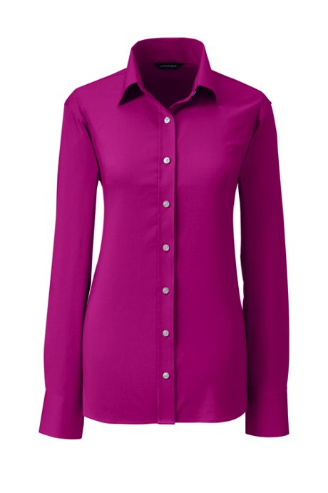 Women's Plus No Gape Stretch Shirt