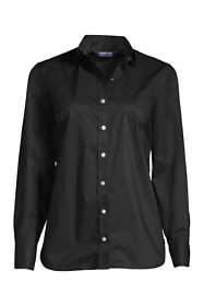 School Uniform Women's Plus No Gape Stretch Shirt