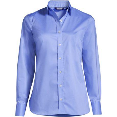 Women's Long Sleeve No Gape Stretch Shirt