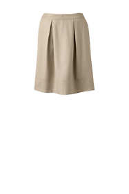 School Uniform Women's Solid Pleated Skort Top of Knee