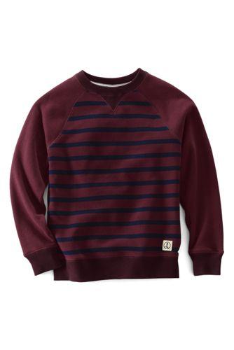 Little Boys' Stripe Sweatshirt