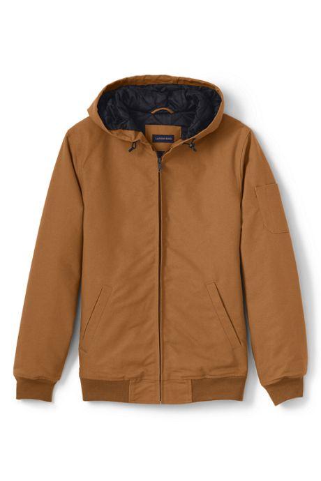 Unisex Big Hooded Zip Jacket