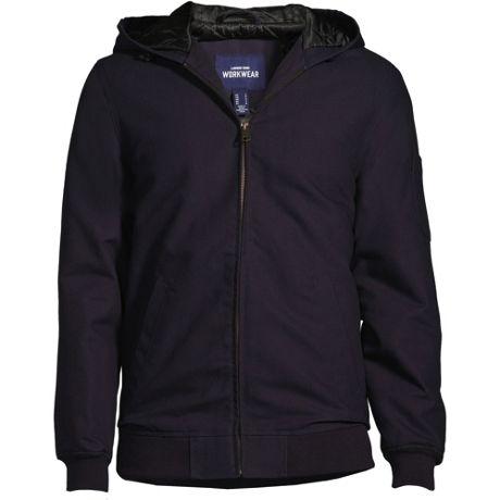 Unisex Custom Embroidered Hooded Work Jacket