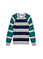 Little Boys' Drifter Stripe Blocked Crew Neck Sweater