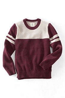 Boys' Drifter Varsity Crew Neck Sweater