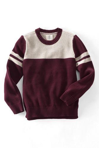 Drifter-Pullover im College-Look für kleine Jungen